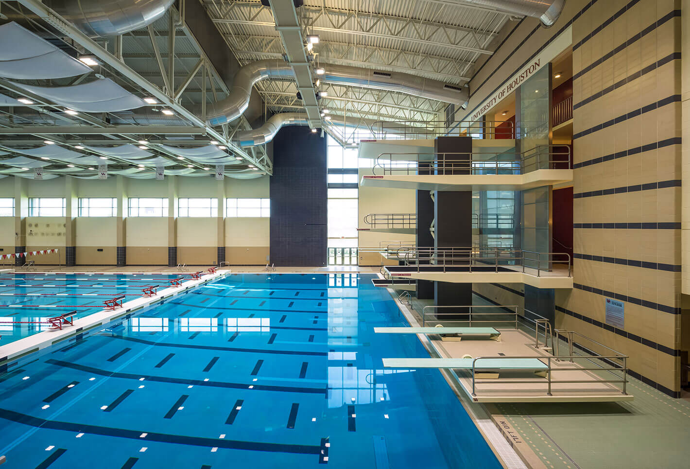 University of Houston Natatorium