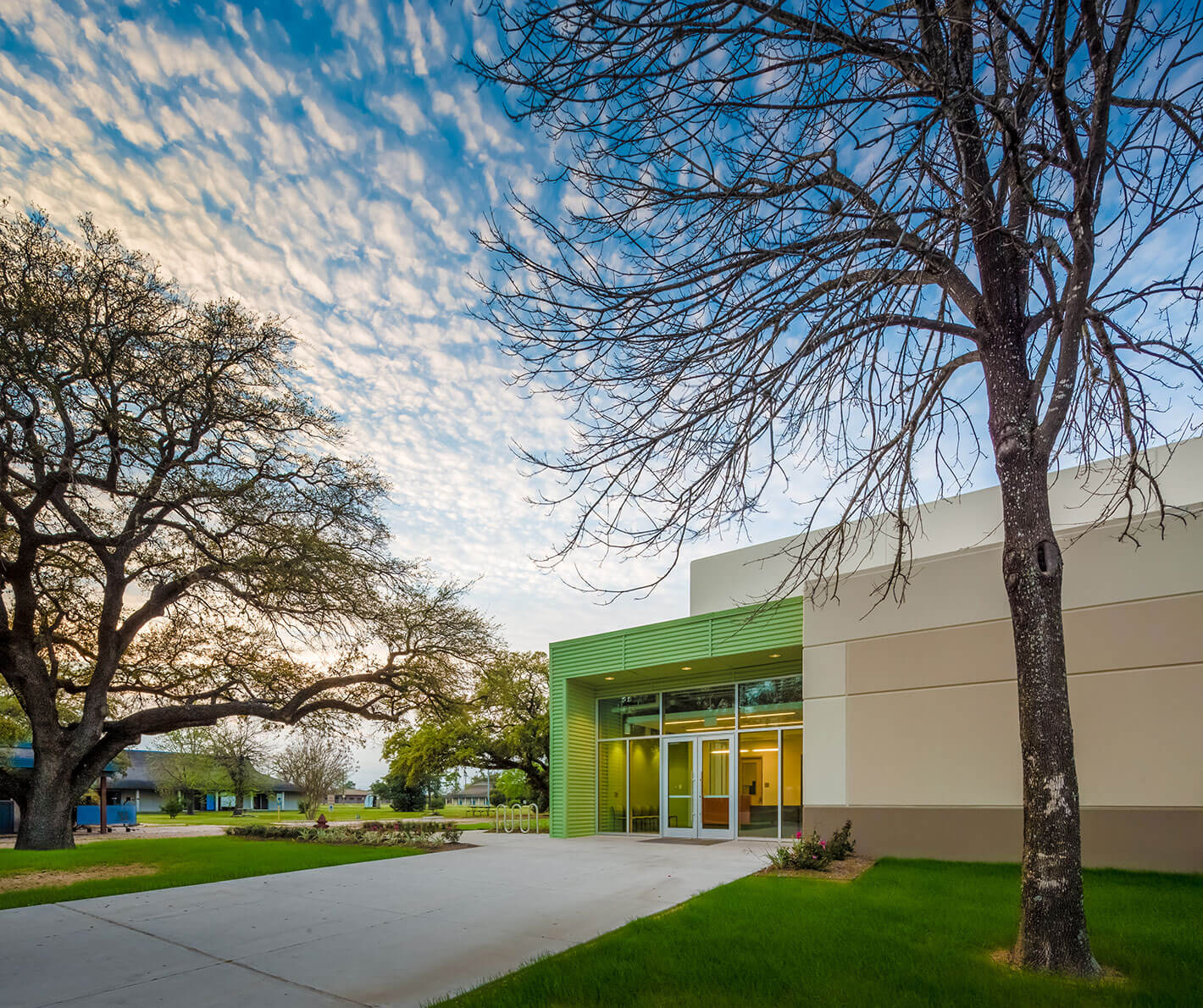 Burnett Bayland Gymnasium