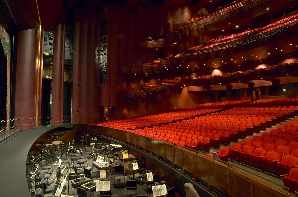 Wortham Center Orchestra Pit